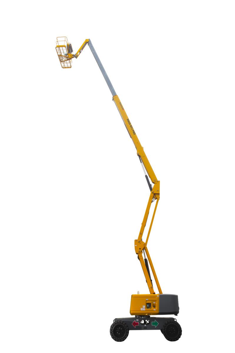 коленчатый телескопический подъемник